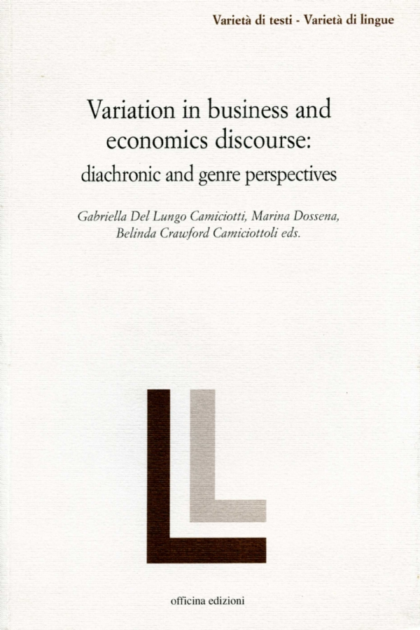 Variation in business and economics discourse