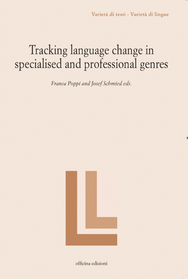 Tracking language change in  specialised and professional genres
